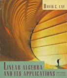 Linear Algebra and Its Applications, Lay, David C., 0201301210