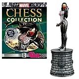 Marvel Silk White Bishop Chess Piece with Collector Magazine