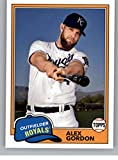 2018 Topps Archives Baseball #230 Alex Gordon Kansas City Royals 1981 Topps Design