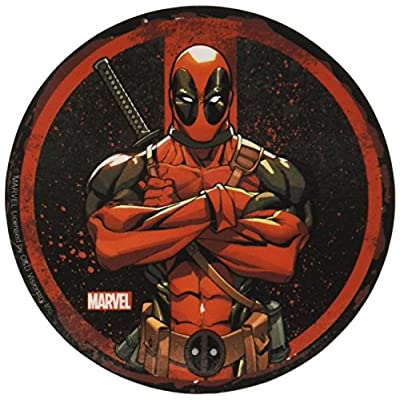 C&D Visionary Marvel Extreme Dead Pool Circle Sticker: Toys & Games
