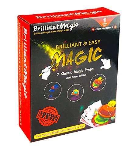 BrilliantMagic Magic Trick Kit for Kids (Red)