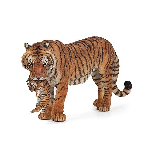 - Papo Wild Animal Kingdom Figure, Tigress with Cub