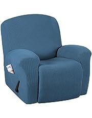 H.VERSAILTEX Stretch Recliner Chair Cover 1-Piece Durable Soft High Stretch Jacquard Sofa Furniture Cover Form Fit Stretch Stylish Recliner Slipcover/Protector