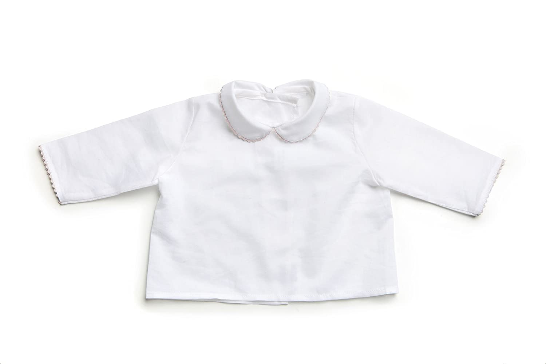 29047cb17 Camisa Batista para Bebé con Piconela Rosa 100% Algodón - Minutus   Amazon.es  Ropa y accesorios