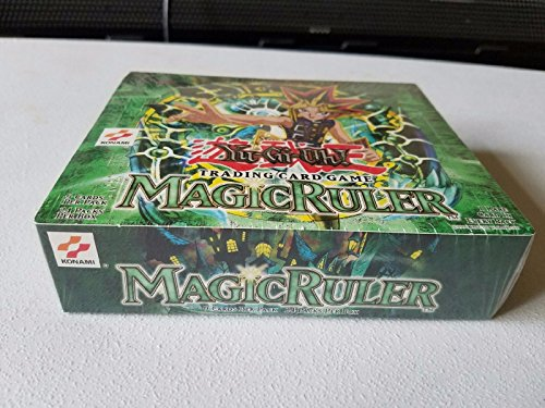 YuGiOh Magic Ruler 1st EDITION Booster Box [24 Packs] - English - Sealed .HN#GG_634T6344 G134548TY42255