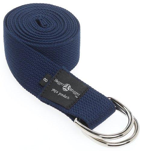 Hugger Mugger Cotton D-Ring 6' Yoga strap