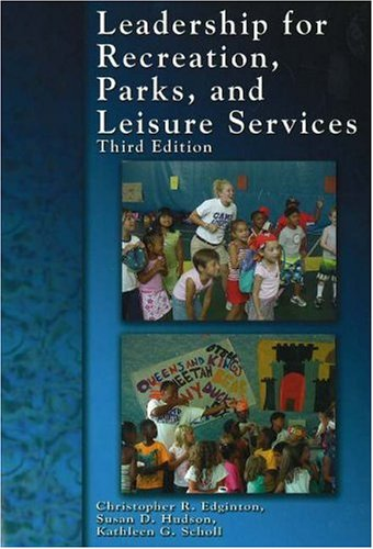 Read Online Leadership for Recreation, Parks, and Leisure Service pdf
