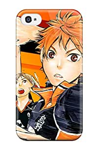 4/4s Scratch-proof Protection Case Cover For Iphone/ Hot Haikyuu Phone Case