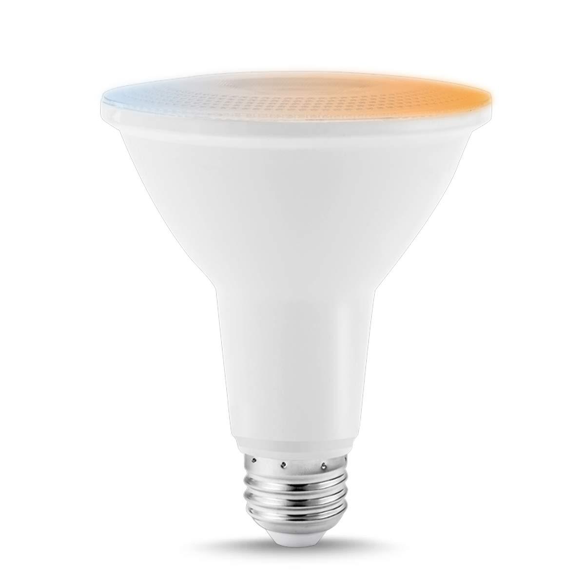 LOHASスマートWiFi par30 LED電球、75 W相当12 Wスマート電話AppコントロールカラーChanging (2000 K-6500 K) 減光、Alexaと互換性Googleアシスタント、理想的なホーム一般照明、1パック B07CTMR5Y9
