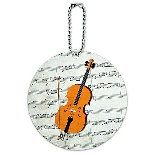 Cello Treble Luggage Suitcase Carry
