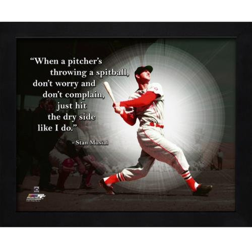 Stan Musial St Louis Cardinals Framed 11x14 Pro Quote