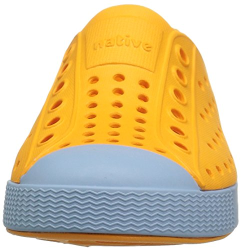 Sneaker Slip-on Nativo Jefferson Arancione / Blu Cielo