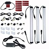 Best Led Bar Lights - Litever Kitchen Under Cabinet LED Lighting Kits,3 PCS Review