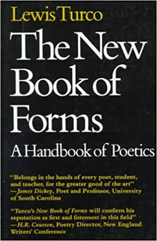 Amazoncom The New Book Of Forms A Handbook Of Poetics