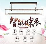 Portable Travel Easy remote control remote control remote control magic hanger hanger with clips can dry socks electric