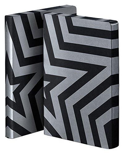 (Nuuna Graphic L Notebook Super Star Design, Black)
