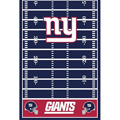 Amscan ''New York Giants Collection'' Printed Plastic Table Cover for Party, 6 Ct. by amscan