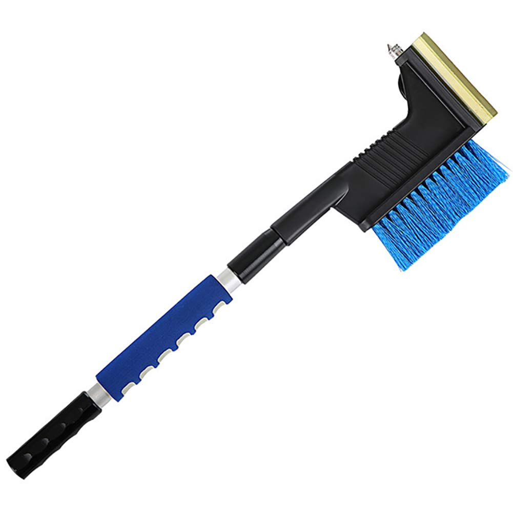 JUST N1 Car Snow Shovel Tool 3 in 1 Multifunctional Ice Scraper Safety Hammer Snow Removal Cleaning Brush by JUST N1