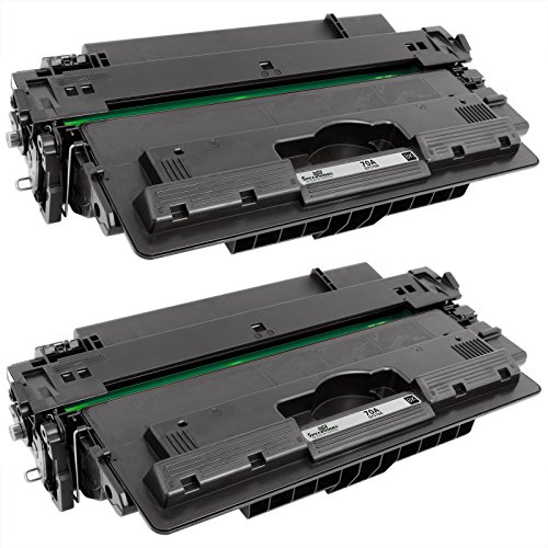 Speedy Inks - 2pk Remanufactured Replacement for HP Q7570A 70A Black Laser Toner Cartridge for use in LaserJet M5025 MFP, LaserJet M5035 MFP, LaserJet M5035x MFP, & LaserJet M5035xs MFP (70a Laserjet)