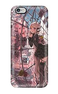 Jairo Guzman's Shop Hot warriors redhead girl ribbon anime Anime Pop Culture Hard Plastic iPhone 6 Plus cases 4715933K228663982