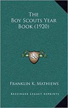 Book The Boy Scouts Year Book (1920)