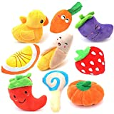 Aduck Squeaky Dog Toys Set 9 Pack, Plush Puppy Dog Chew Toys for Small Dogs and Puppies Review