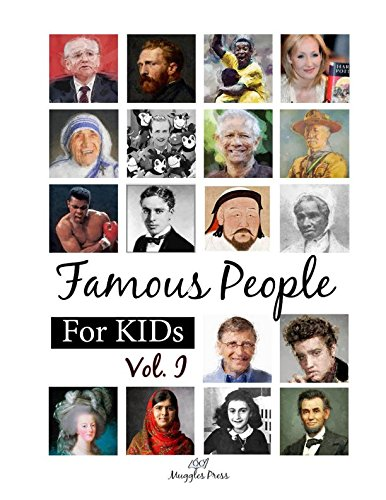 Famous People for Kids Vol1