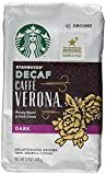 Starbucks Decaf Caffe Verona Coffee (Bold), Ground, 12-Ounce Bags (Pack of 2)