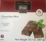 ProtiDiet Chocolate Mint Protein Bars (7 bars/box) Review
