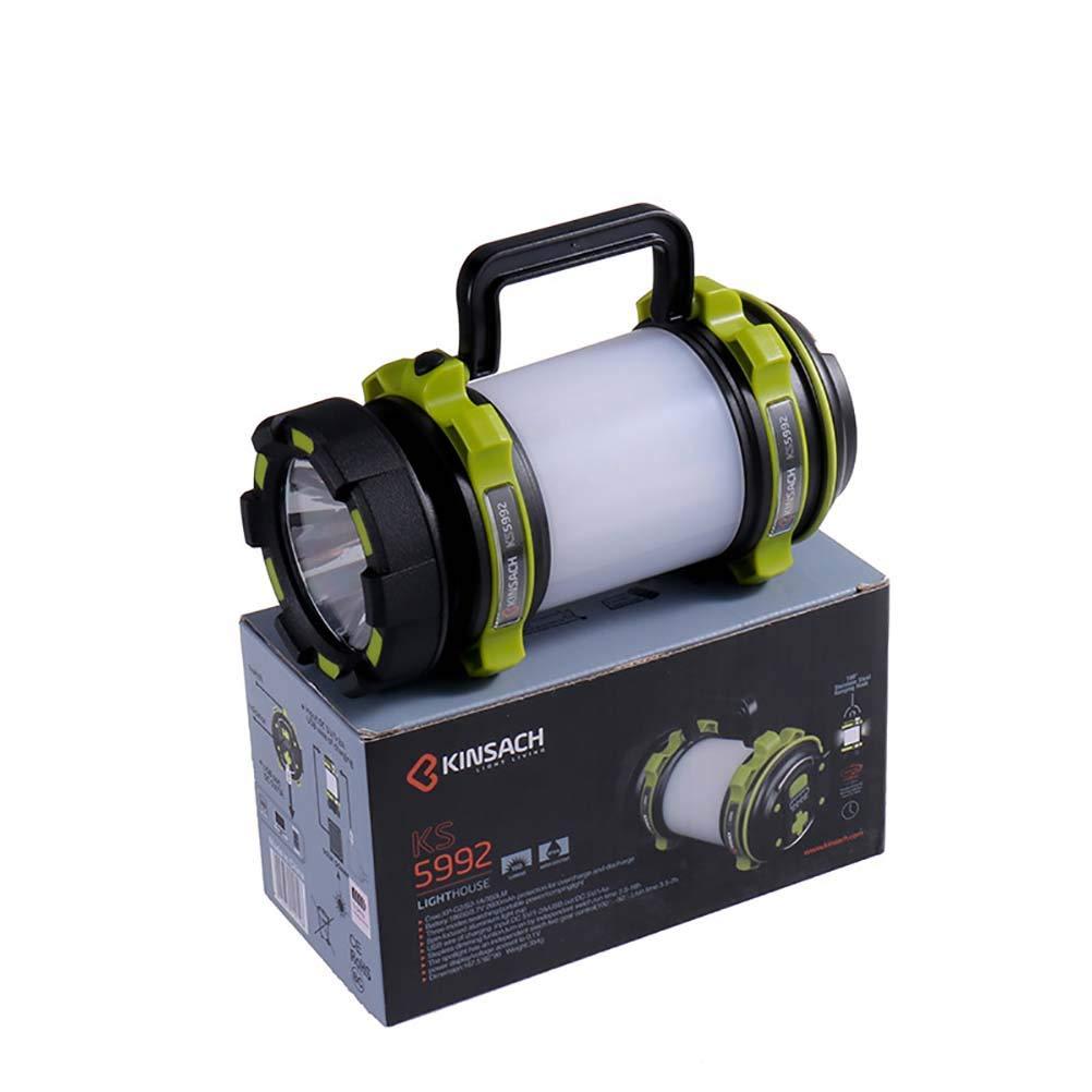 WngLei Tragbare Scheinwerfer im Freien hohe Leistung tragbare helle Blendung wiederaufladbare LED Multifunktions Camping Licht