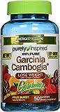 Purely Inspired Garcinia Cambogia+ Gummies, Fruit Burst, 50 Count