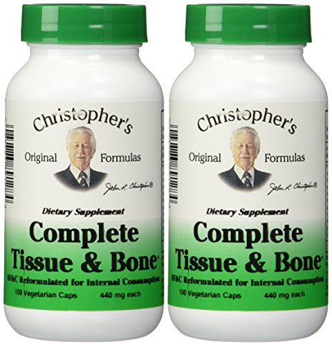 - Dr. Christophers Formulas Complete Tissue and Bone 100 X 2