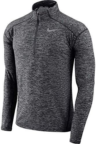 (Nike Men's Dry Element 1/2 Zip Running Top Grey AQ7903 021 (m))