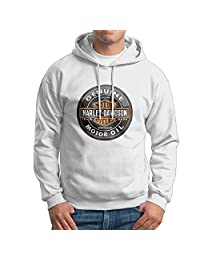 MC Club Men's Pullover Hoodie Life Guard Sweatshirt- Harley Davidson Logo