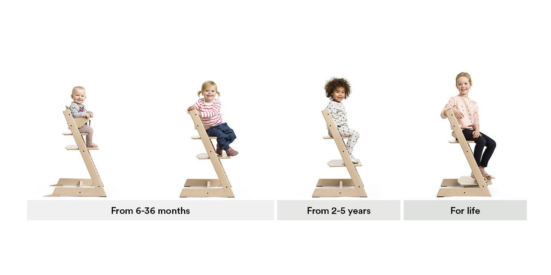 Amazon.com: Stokke Silla tripp trapp, Natural, talla única ...