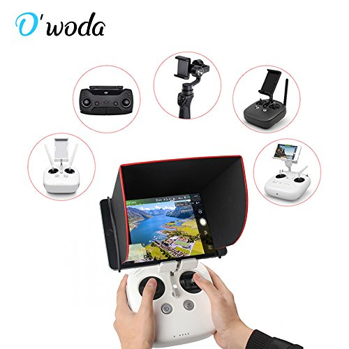 "5314e340403db O woda 5.5"" Controller Sun Hood Foldable Cellphone Monitor Sunhood Cover for  DJI Phantom"