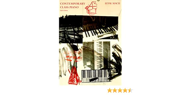 Contemporary class piano elyse mach 9780155017382 amazon books fandeluxe Gallery
