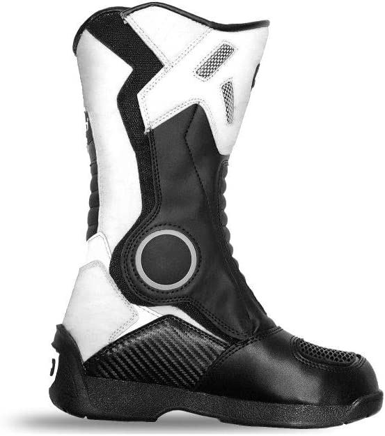 Kimo Kinder Motorradstiefel Protect Boots Rot, 38