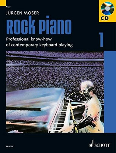 ROCK PIANO 1 PROF KNOW-HOW OFCONTMPORARY KEYBOARD PLAYING BKCD-GERMAN 49017641-ENG VERS