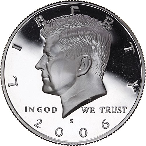 2006 S US Mint Deep Cameo Kennedy Silver Proof Half ()