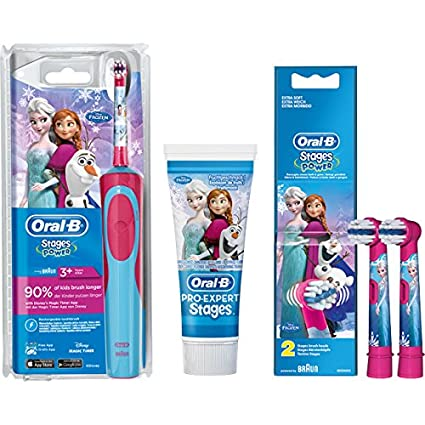 SPAR-SET: 1 Braun Oral-B stages de energía de Advance de fuente