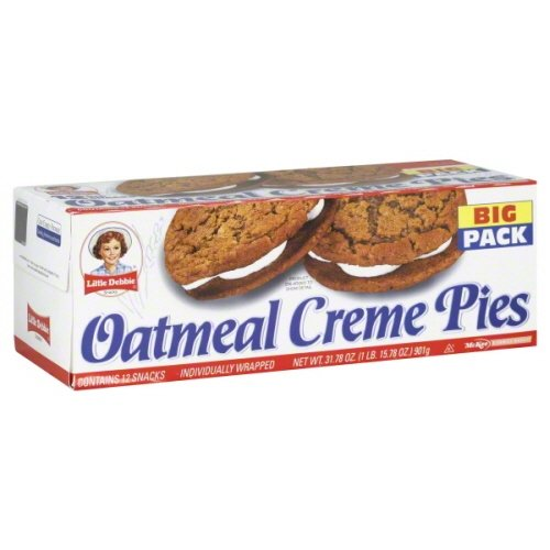 little-debbie-oatmeal-big-pack-creme-pies-3178-oz-pack-of-2