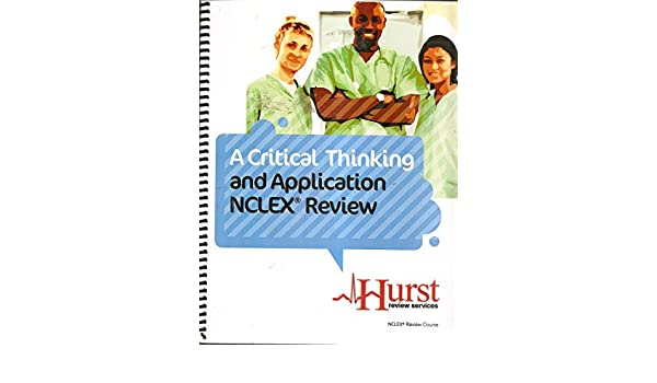 A critical thinking and application nclex review by hurst review a critical thinking and application nclex review by hurst review services marlene hurst amazon books fandeluxe Images