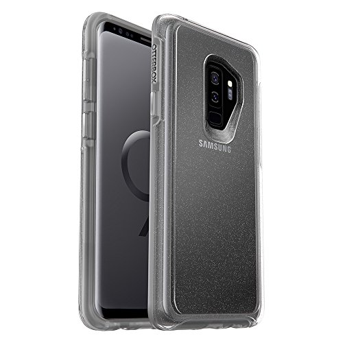 OtterBox SYMMETRY CLEAR SERIES Case for Samsung Galaxy S9+ - STARDUST (SILVER FLAKE/CLEAR)
