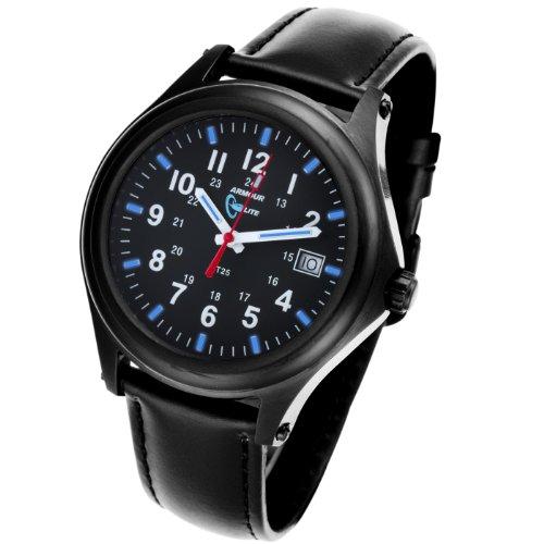 Armourlite Shatterproof Scratch Resistant High Impact Glass Captain Field H3 Tritium Watch