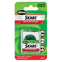 "Slime 20040 SKABS Pre-Glued 1 ""Patches (Paquete de 6)"