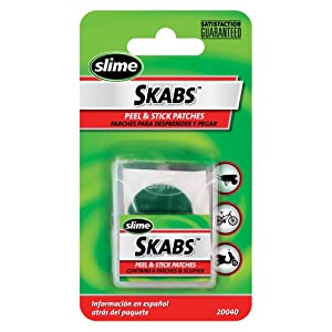 "Slime 20040 SKABS Pre-Glued 1"" Patches (Pack of 6)"