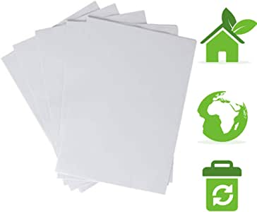 Papel Bond Reciclado Ecologico 1500 hojas tamaño carta. 3 paquetes de 500, Excelente Blancura Papeleria Ecologica