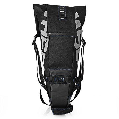 ROSWHEEL Wasserdichtes Bike Gepäckträger Taschen - 10L Wasserfeste Fahrradhalterung Bike Fahrrad hinten Sitz Tasche Zubehör für Gepäck, Mountain, Road, Radfahren Spor
