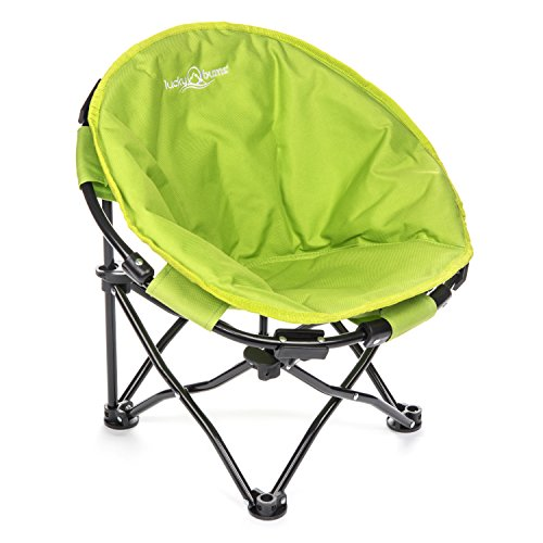 Lucky Bums Moon Camp Kids Indoor Outdoor Comfort Lightweight Durable Chair with Carrying Case,...